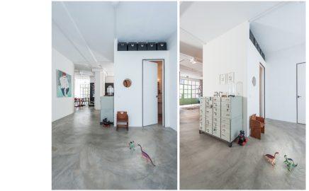 Binnenkijken in een voormalige garage uit Amsterdam-Oost
