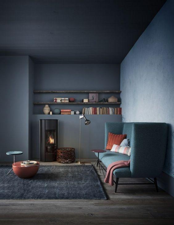 blauw-plafond-blauwe-muren