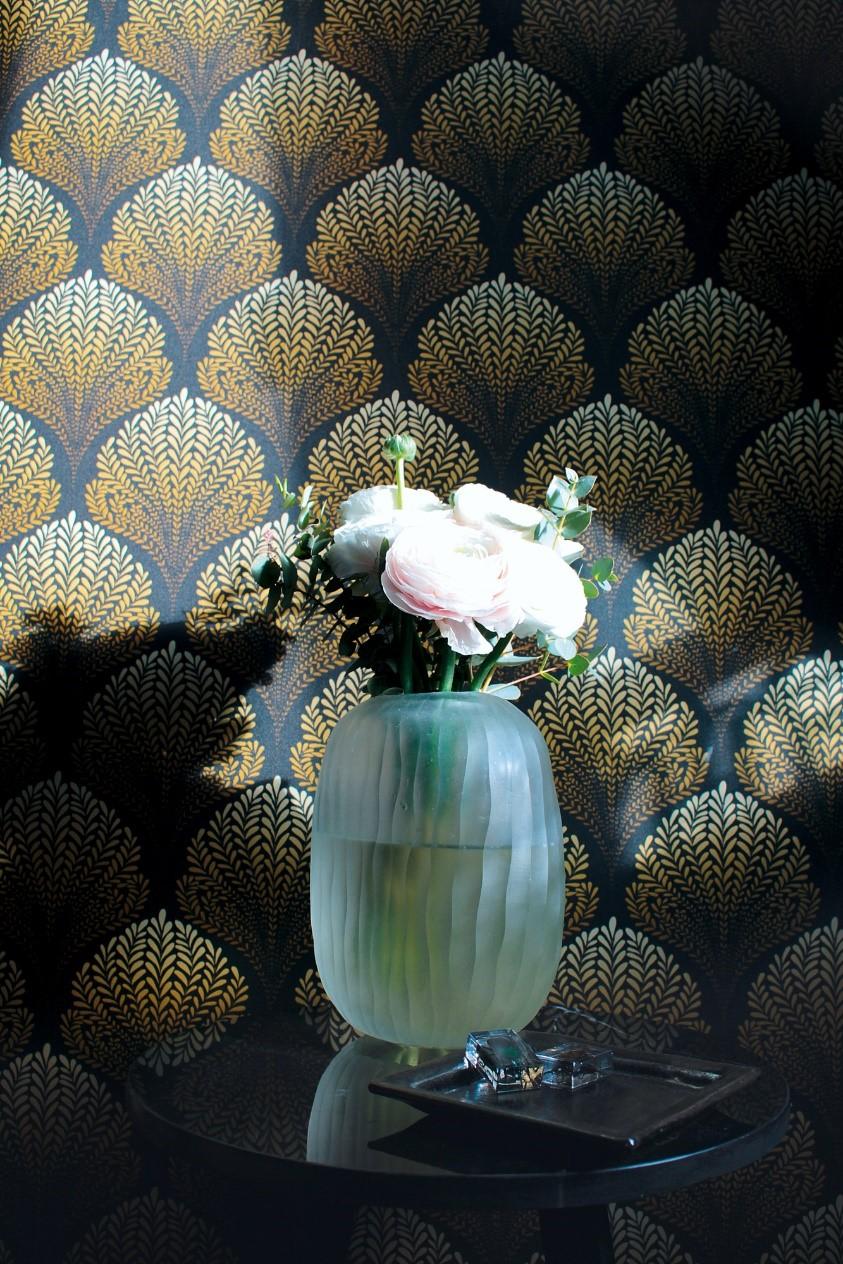 bloemen behang luxe