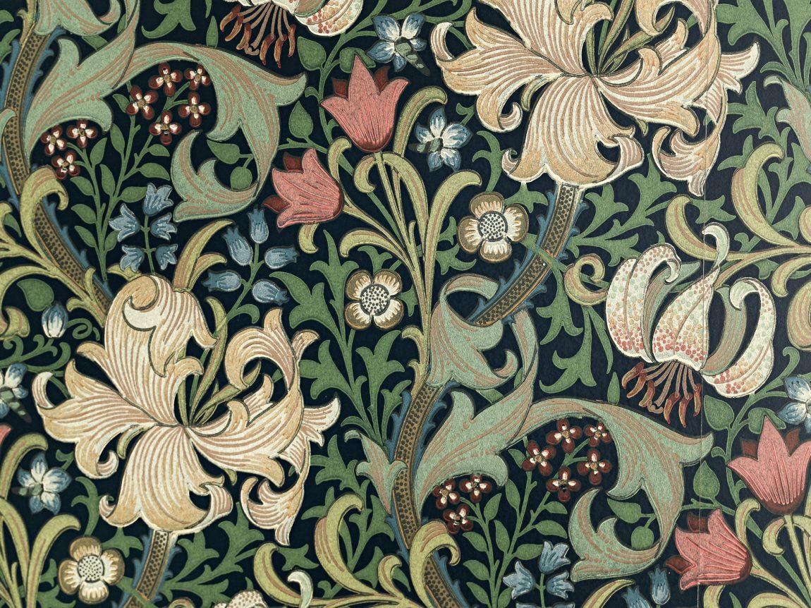 bloemetjespatroon-behang