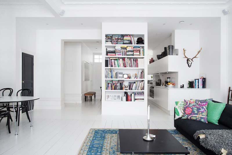 boekenkast nisjes woonkamer