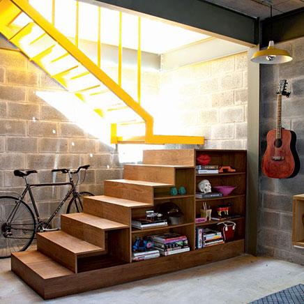 Boekenkast trap