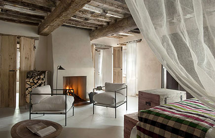 Boetiek hotel monteverdi tuscany inrichting for Designhotel toskana