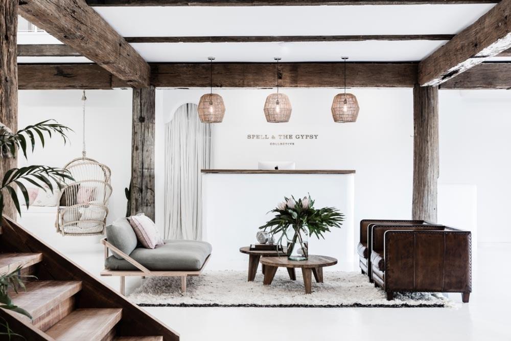 Bohemian Balkon Inrichting : Bohemian chic kantoor van the gypsy collective inrichting huis