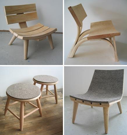 Bookhou inrichting for Design 24 stoelen