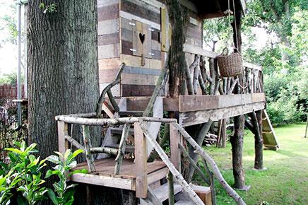 Boomhut laten bouwen inrichting for Tuin laten ontwerpen