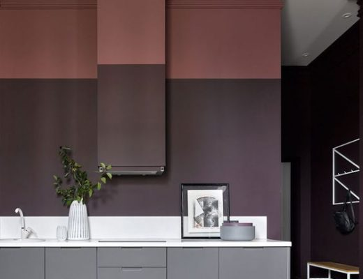 Bordeaux rood interieur