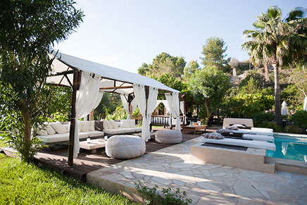 Boutique hotel can xuxu in ibiza inrichting for Design boutique hotels ibiza