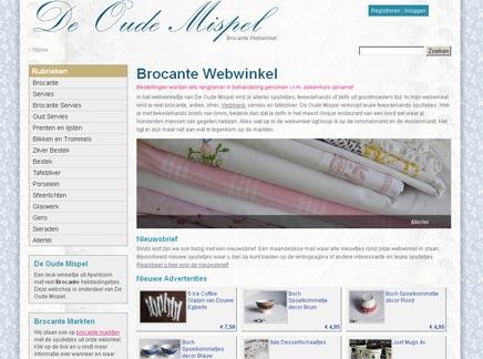 Brocante webwinkel de Oude Mispel