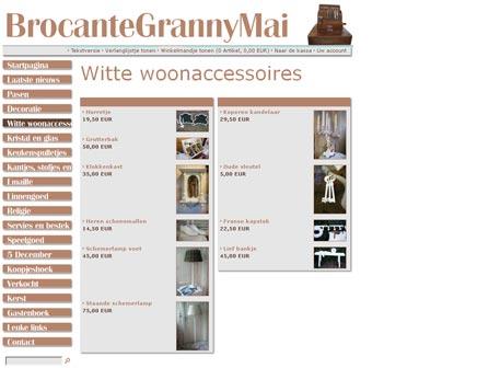 Brocante webwinkel Granny Mai
