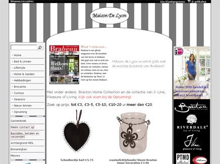 Brocante webwinkel Maison de Lyon