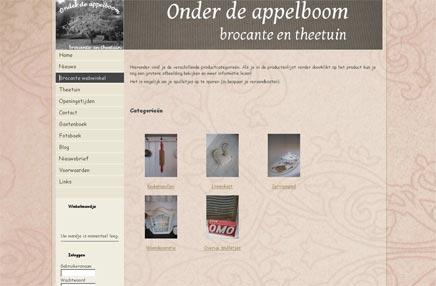 Brocante webwinkel Onder de appelboom Brocante & Theetuin