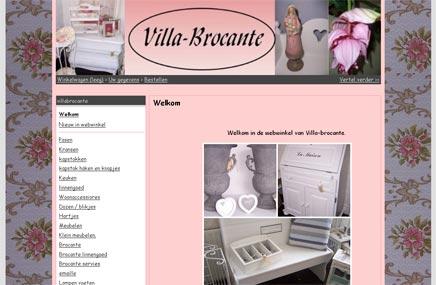 Brocante webwinkel Villa-Brocante