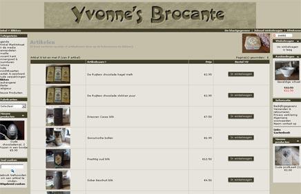 Brocante webwinkel Yvonnes Brocante