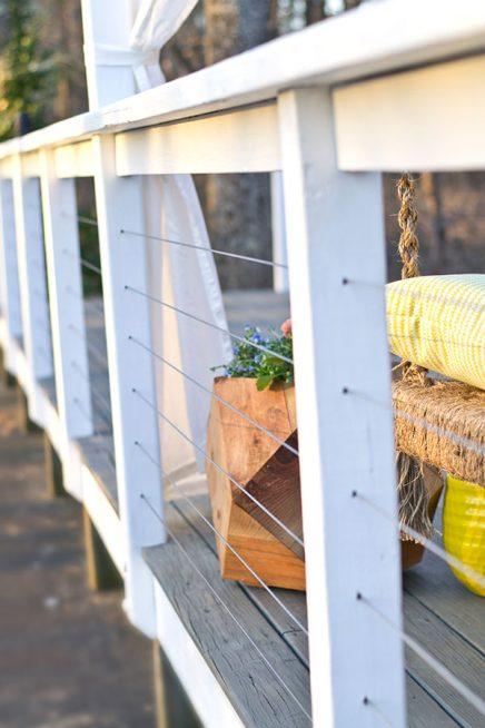 Budget metamorfose van een terras tuin