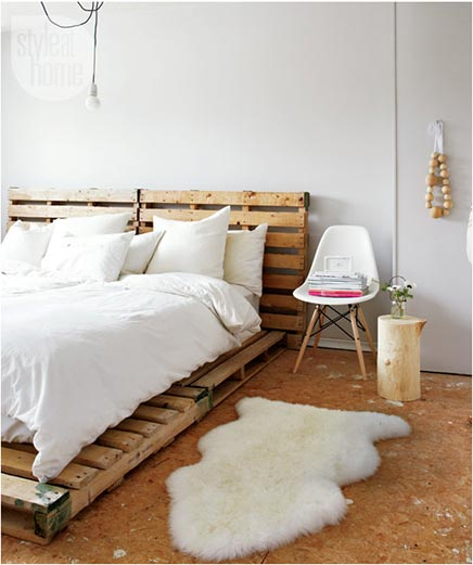 Budget slaapkamer van Tara