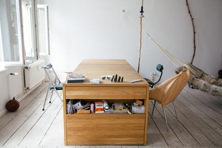 Bureau bed combinatie
