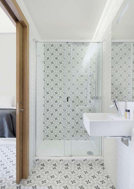 Cementtegels badkamer Barcelona