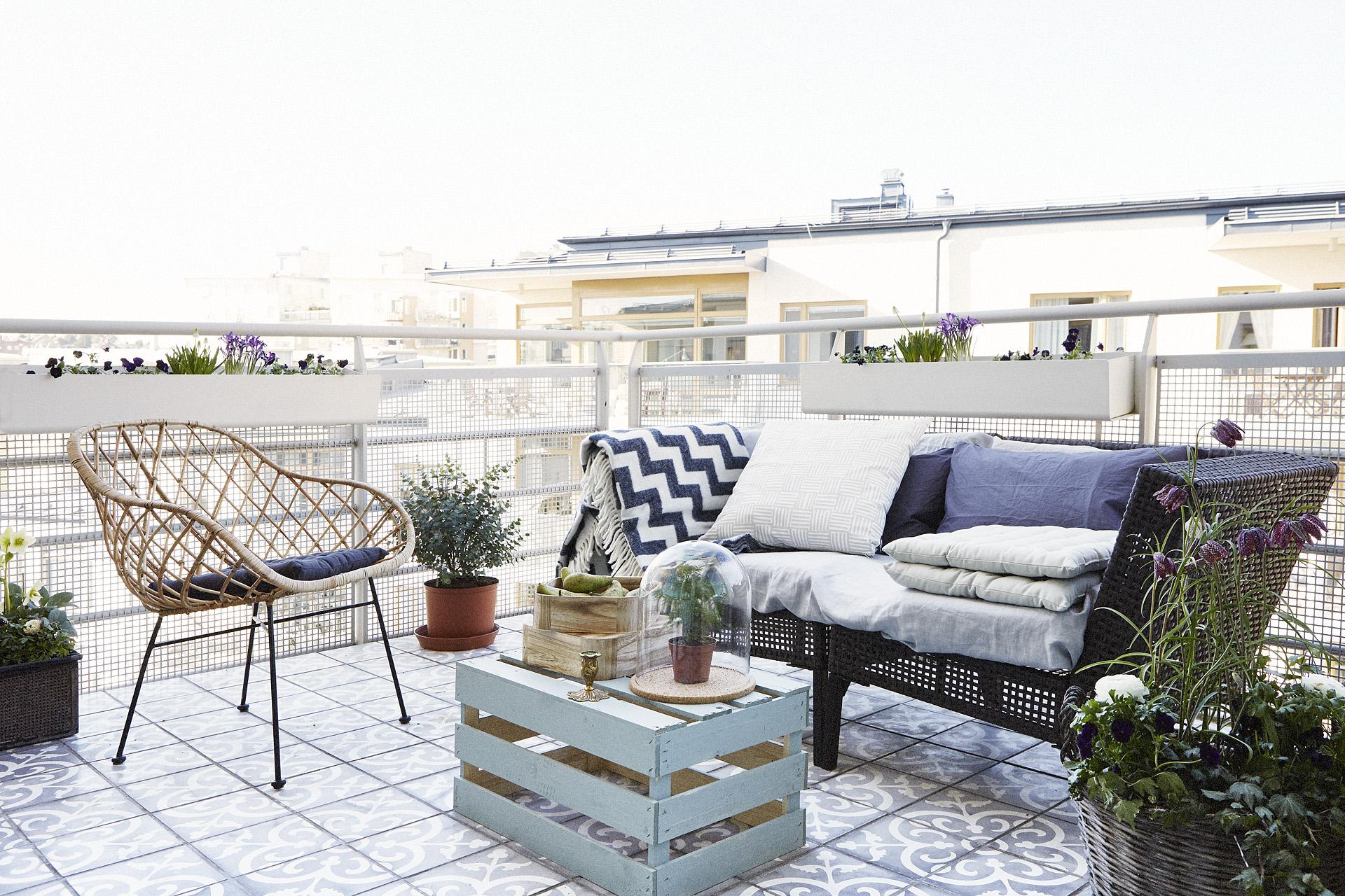 Simpel Balkon Ontwerp : Ontwerp zonnig balkon terras van 30m2 inrichting huis.com