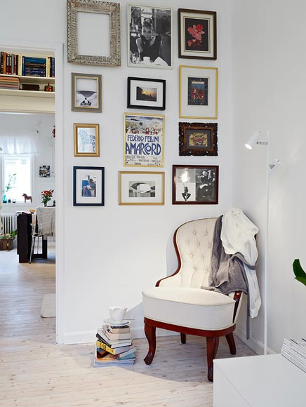 Raumgestaltung von charmante Wohnung in Göteborg
