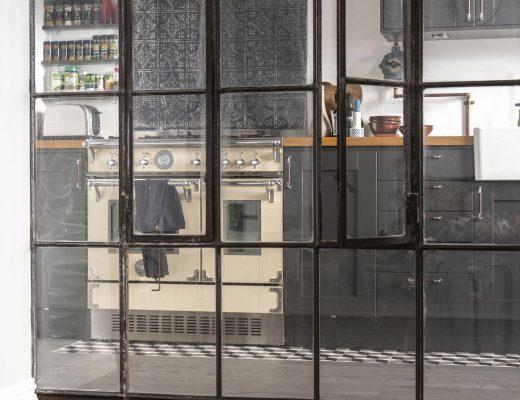 Landelijk wonen in dijkhuis in durgerdam amsterdam inrichting - Chique keuken ...