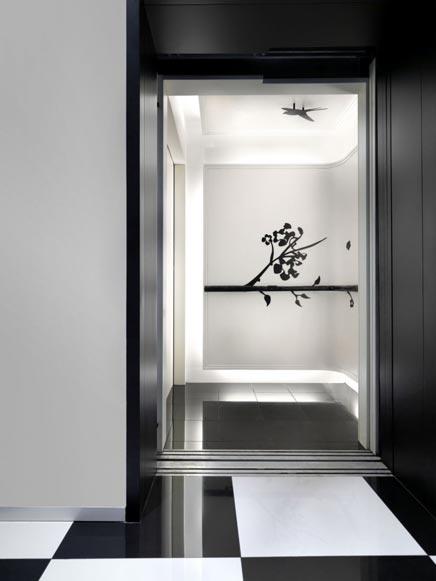 The Club hotel door Ministry of design