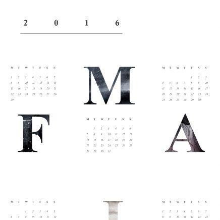 Coco Lapine kalender 2016