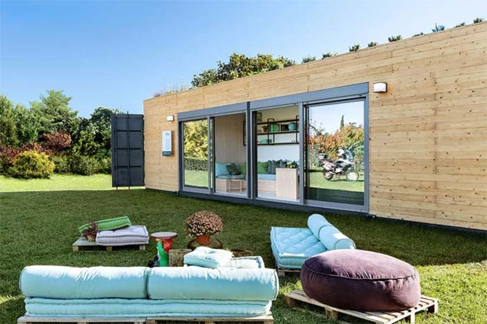 Containerwoning Cocoon Modules