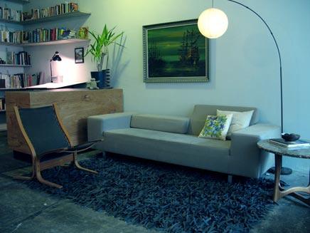 Combinatie inrichting van huis & kantoor