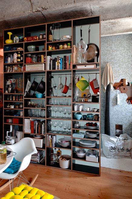 Compacte keuken van Lukas