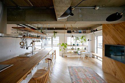 Complete woonkeuken uit Japan