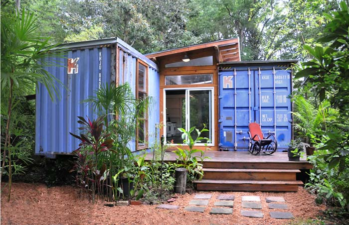 Containerwoning The Savannah project
