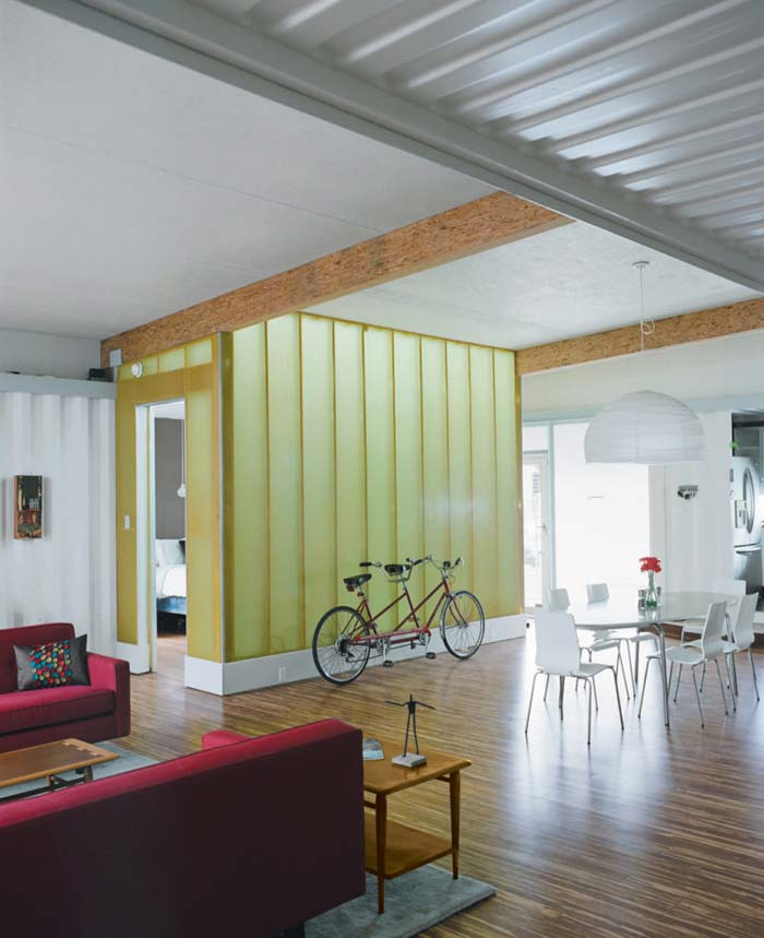 Cordell House containerwoning