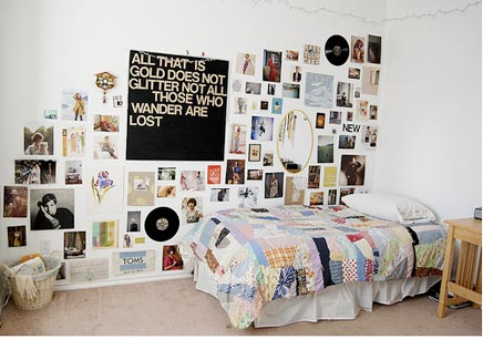 Creative bedroom idea
