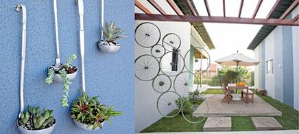 Creatieve budget idee n voor balkon of tuin inrichting for Huis in tuin voor ouders