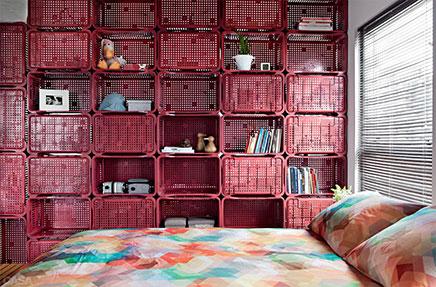 Scheidingswand Voor Slaapkamer : Creatieve scheidingswand tussen slaapkamer en woonkamer inrichting