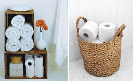Creatieve toiletrolhouders