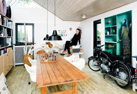 Creatieve werkplek van Pil Bredahl  Inrichting-huis.com