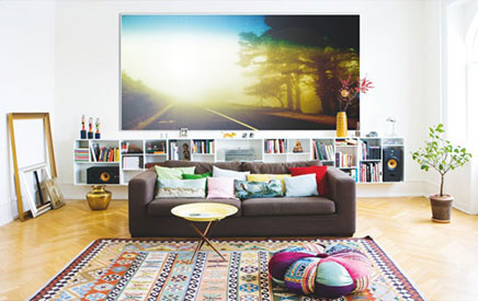 Creatieve woonkamer van fotografen Joachim en Maria