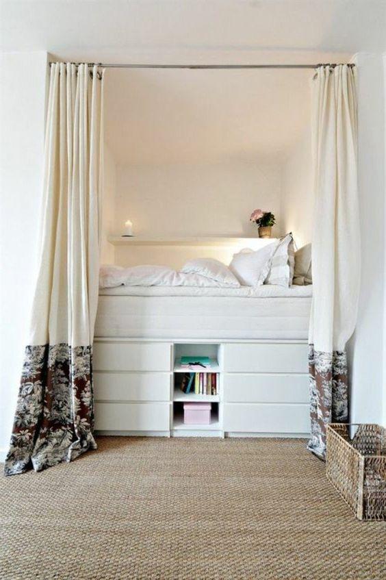 Creëer Een Bed Met Een Ikea Ladekast Inrichting Huiscom