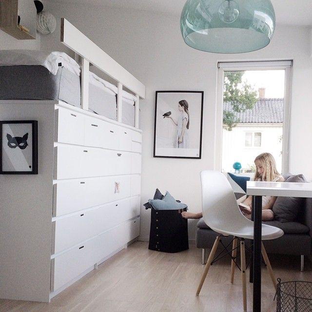 Creëer een bed met een IKEA ladekast!