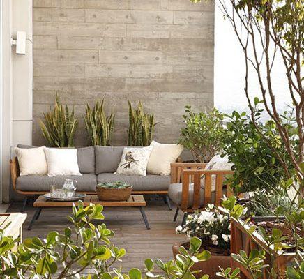 Creëer een luxe terras