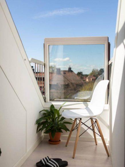 Dakraam Frans balkon