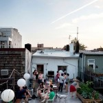Roof terras party!