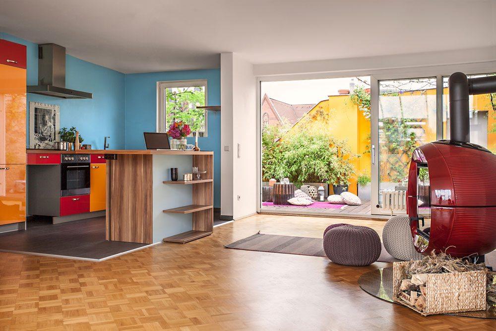 Dakterras tuin van een appartement inrichting for 25m2 wohnung einrichten