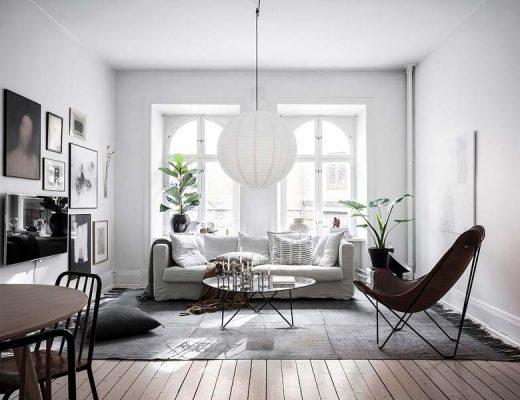 De interieurstyling van dit Zweedse appartement is perfect!