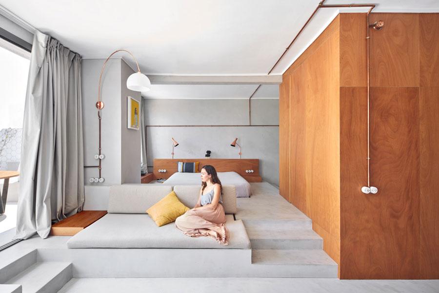 De Olympische jachthaven is de inspiratiebron voor het ontwerp van dit kleine appartement uit Barcelona!
