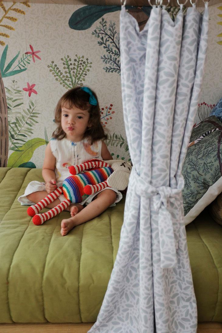 De super leuke kinderkamer van driejarige Catarina