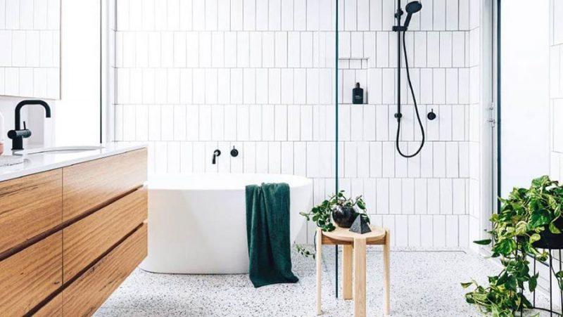 De super mooie badkamer van Linda en Sam