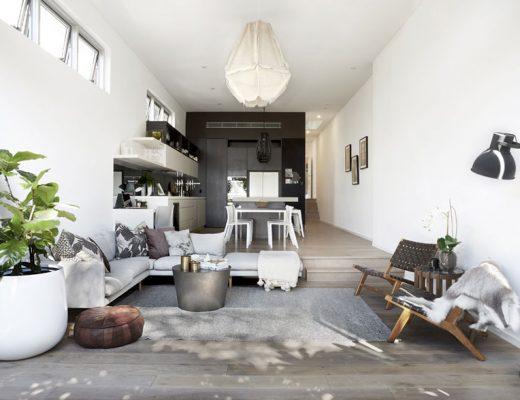 De verbouwing van deze woonkamer is super inspirerend!
